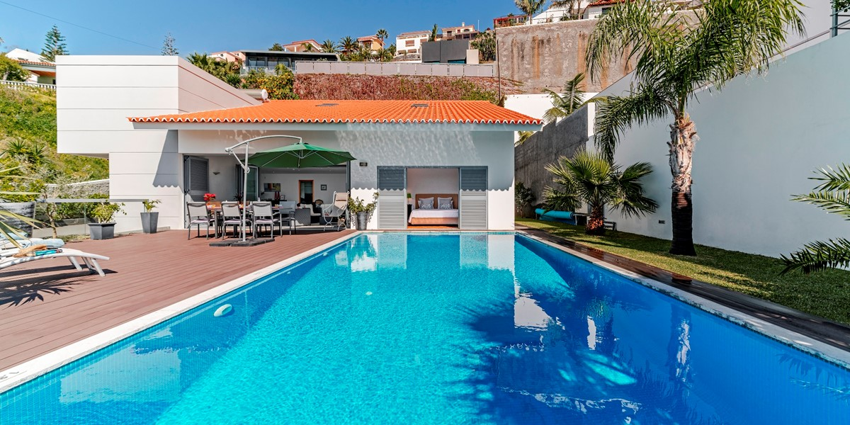 2 Our Madeira Villa Sol E Mar Pool And View