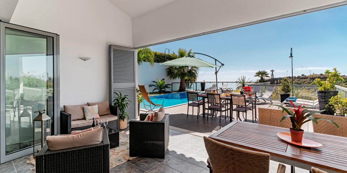 5 Our Madeira Villa Sol E Mar Porch