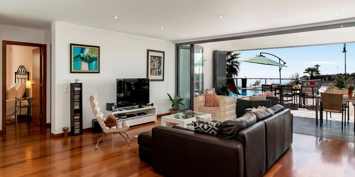 6 Our Madeira Villa Sol E Mar Living Room