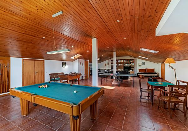 Our Madeira - Villas in Madeira with Games Room - Villa Sol E Mar Games Room