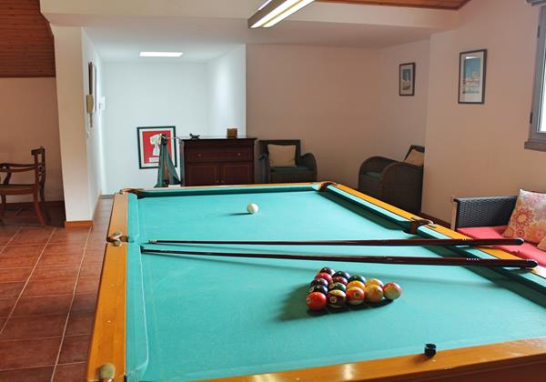 12 Ourmadeira Villa Sol E Mar Games Room Billiards