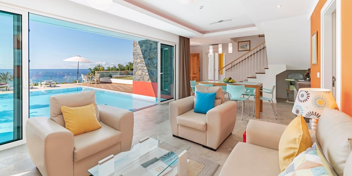 4 Our Madeira Villa Do Mar 3 Living Area