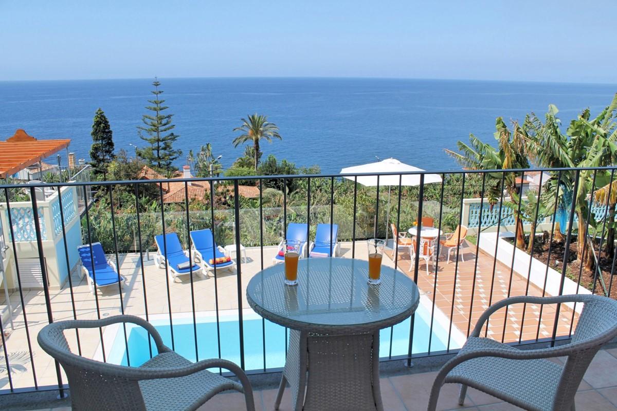 13 Our Madeira Villa Do Mar III Balcony Pool View