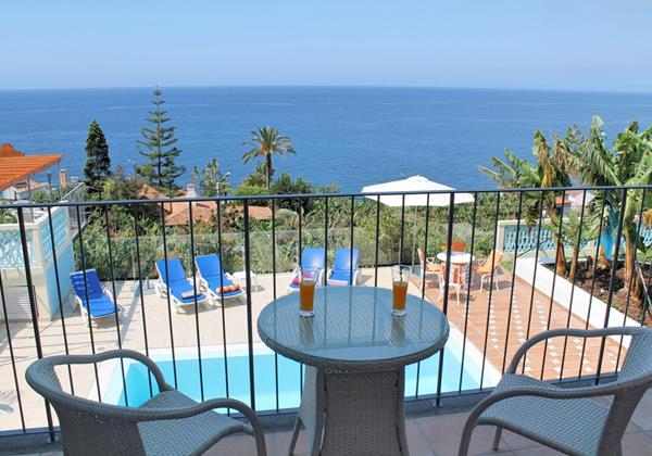 13 Our Madeira Villa Do Mar III Balcony Pool View