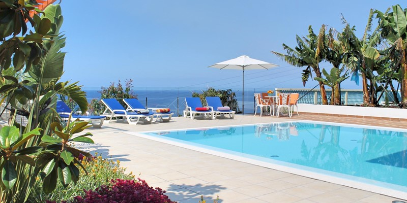 17 Our Madeira Villa Do Mar III Pool East View 2