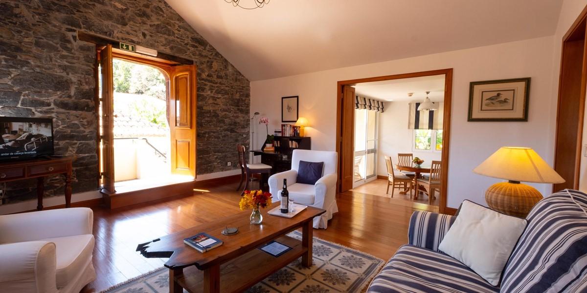5 Our Madeira Casa Do Feitor Living Area