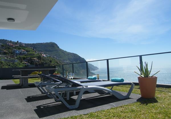 4 Our Madeira Villa Oceano Terrace