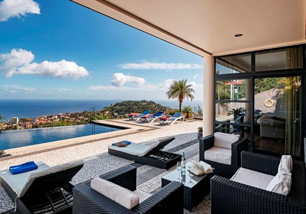 Our Madeira Large Villas in Madeira - Villa Luz Exterior