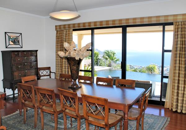 7 Our Madeira Villa Luz Dining And View