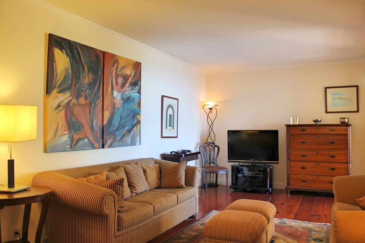 8 Our Madeira Villa Luz TV Room
