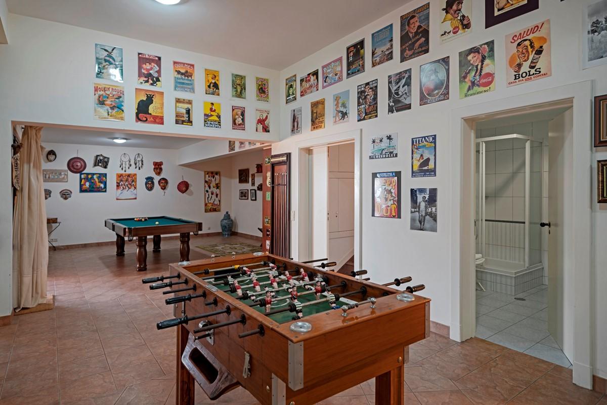 10 Our Madeira Villa Luz Games Room