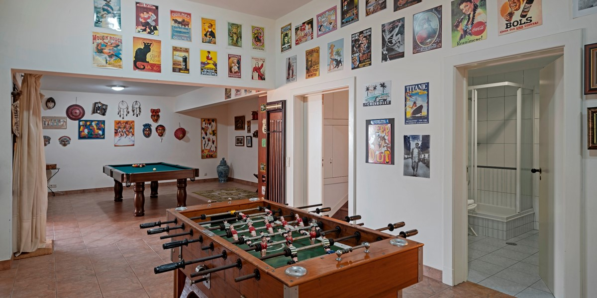 10 Our Madeira Villa Luz Games Room