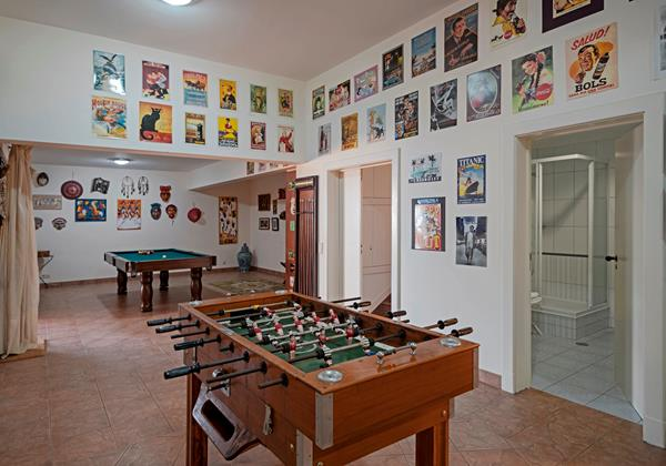 Our Madeira - Villas in Madeira with Games Room - Villa Luz Games Room