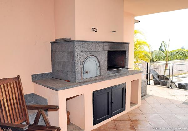 13 Our Madeira Villa Luz Barbecue