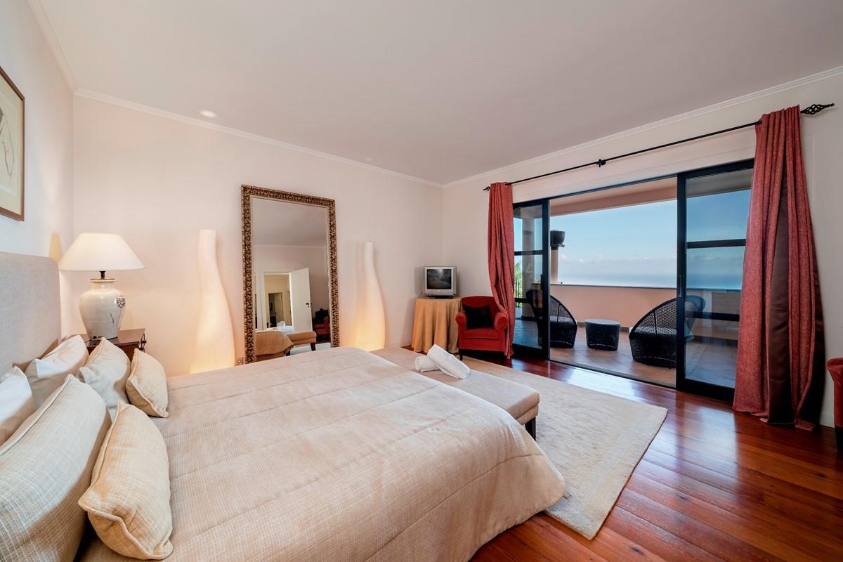 15 Our Madeira Villa Luz Master Bedroom