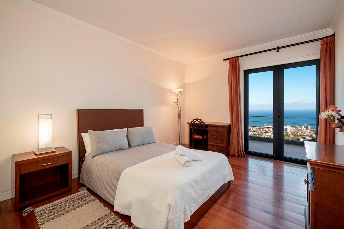 17 Our Madeira Villa Luz Double Bedroom