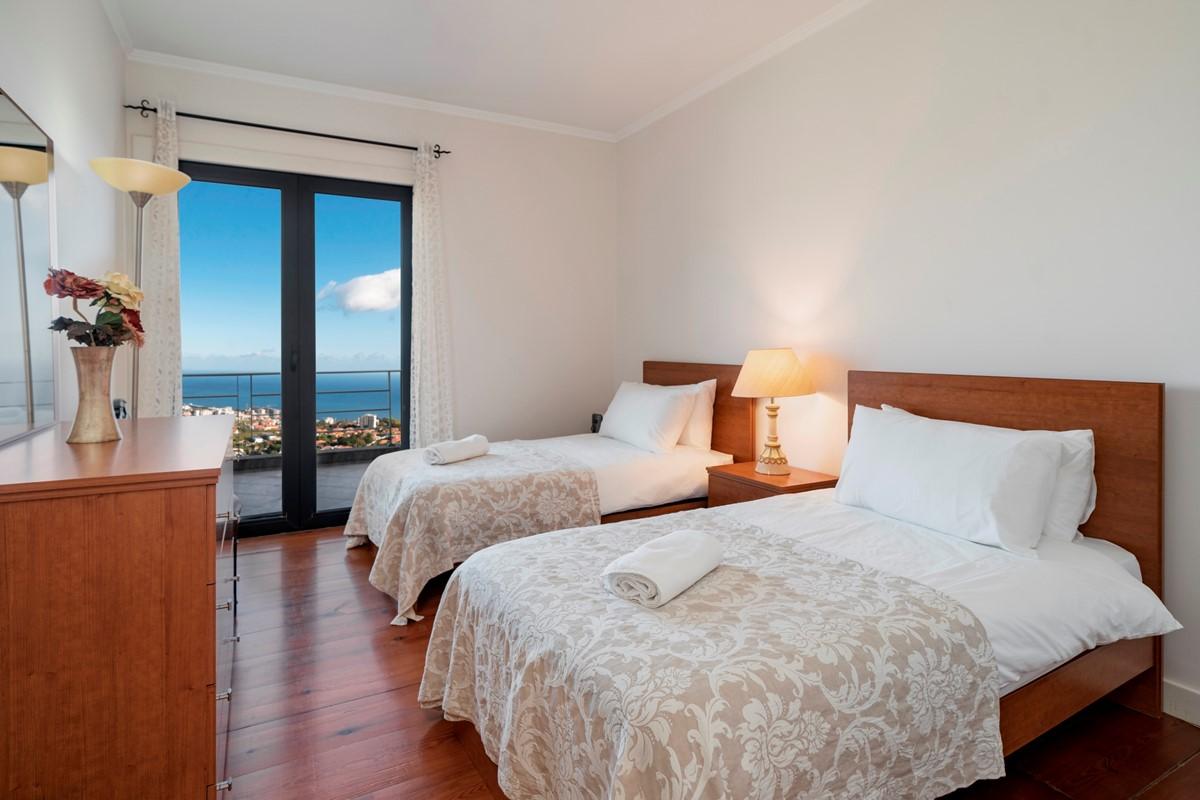 18 Our Madeira Villa Luz Twin Bedroom