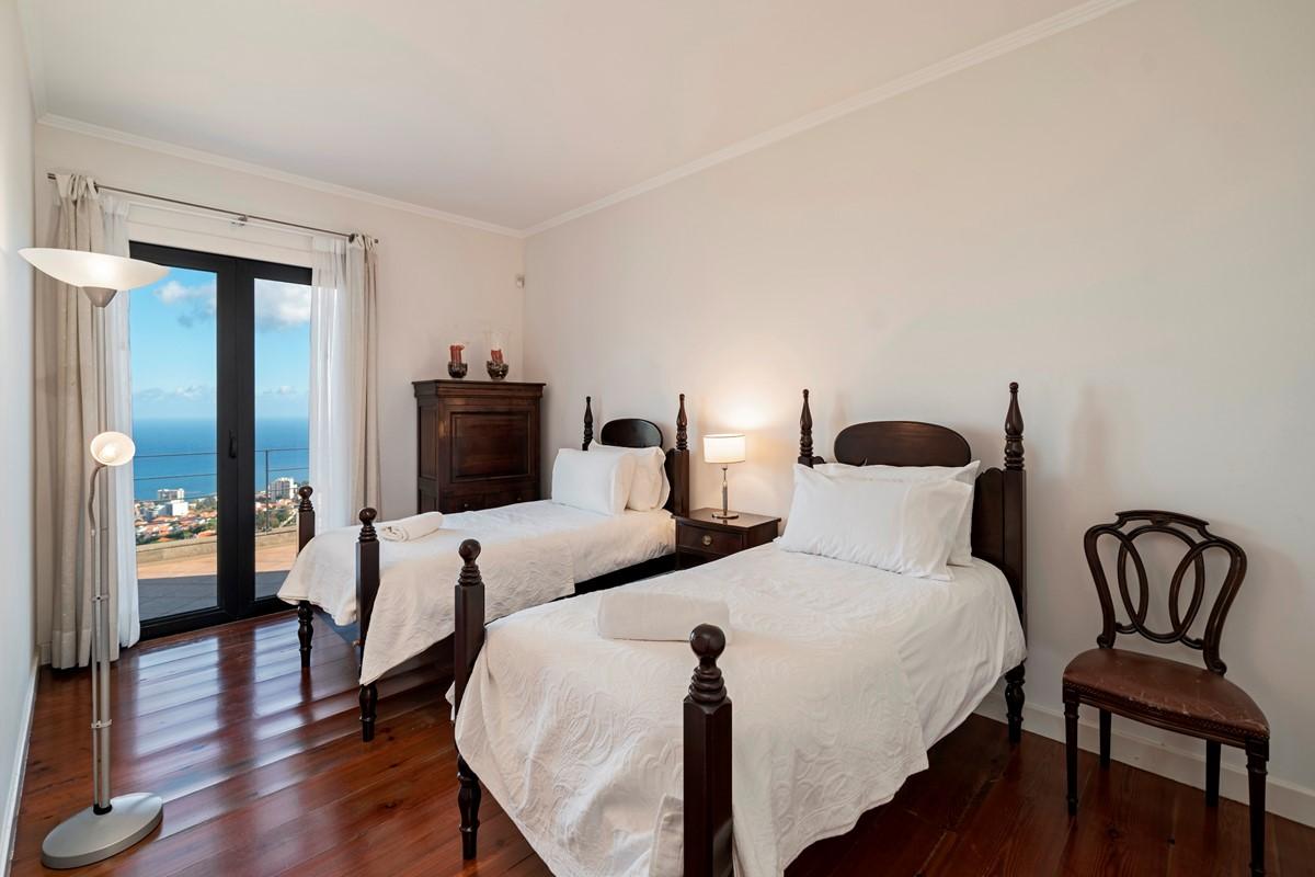 19 Our Madeira Villa Luz Twin Bedroom