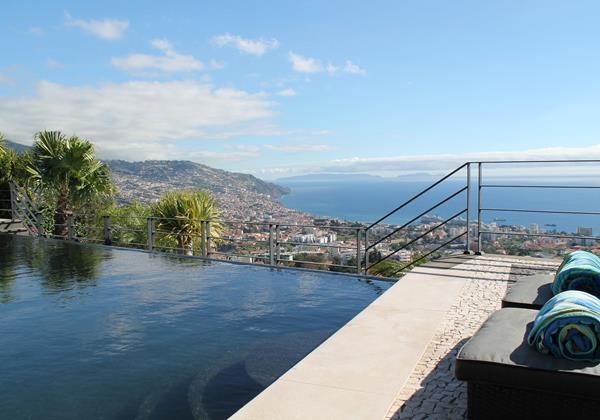 Our Madeira - Villas in Madeira with Infinity Pool - Villa Luz Pool