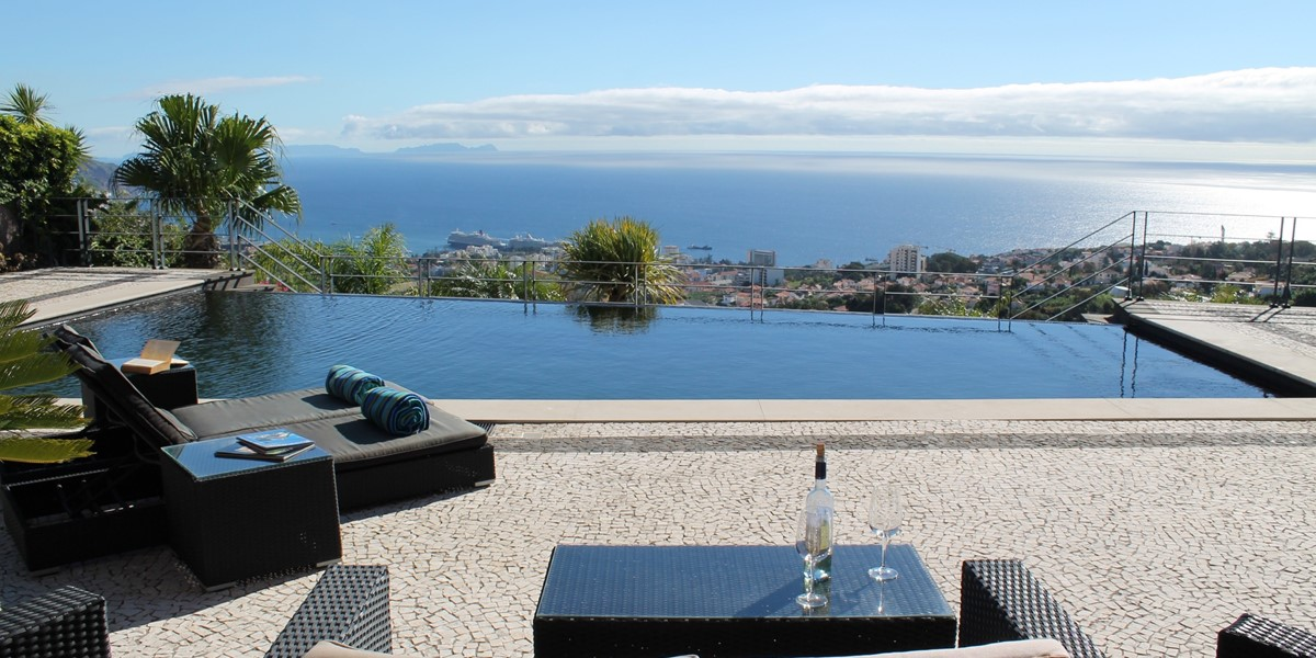 27 Our Madeira Villa Luz Pool And View
