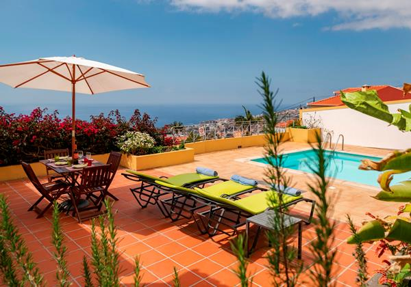 2 Our Madeira Casa Belflores Pool And View