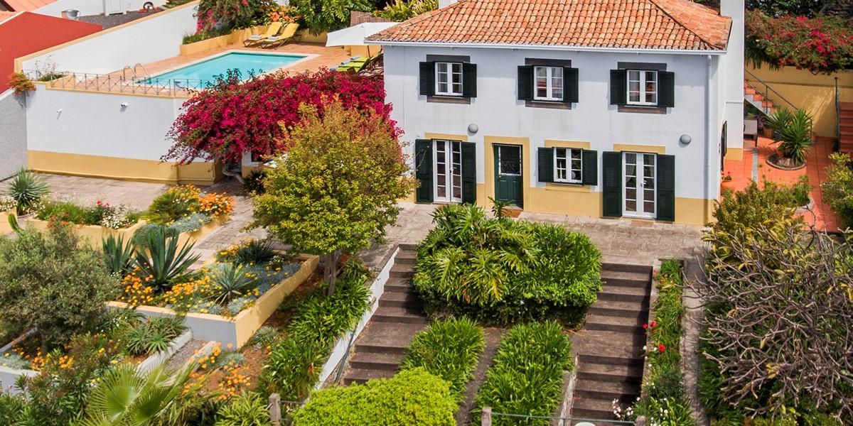 20 Our Madeira Casa Belflores Aerial View