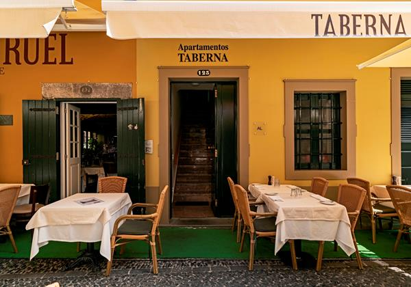 7 Our Madeira Apt Taberna Entrance