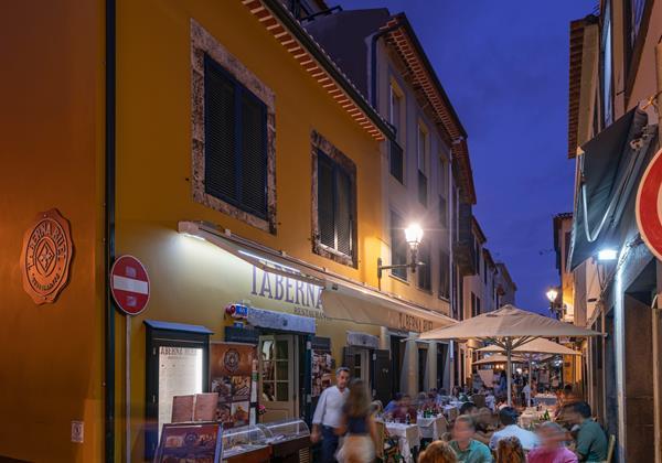 D Our Madeira Apt Taberna Exterior Restaurant Facade