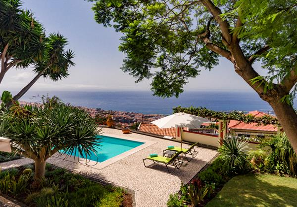 2 Our Madeira Quinta Dalegria Pool And View