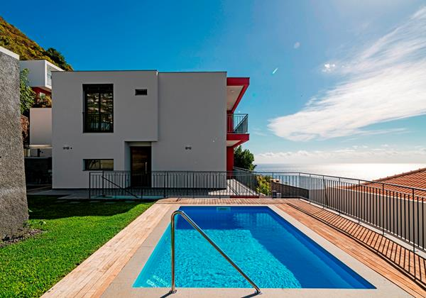 Our Madeira - Villas in Madeira with Private Pool - Casa Amaro Sunset