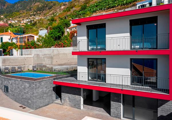 Our Madeira - Villas in Madeira with Heated pool - Casa Amaro Sunset