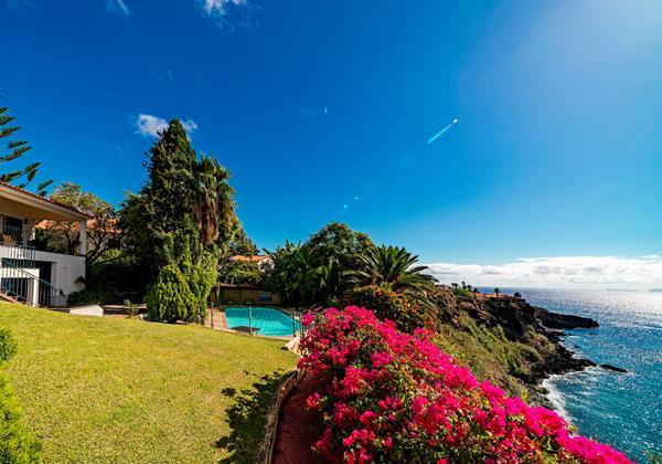 22 Our Madeira Villa Albatroz Garden