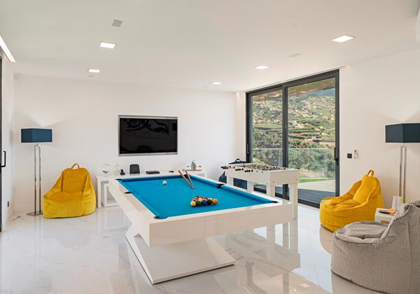 Our Madeira Villas in Madeira with Games Room - Seacrest