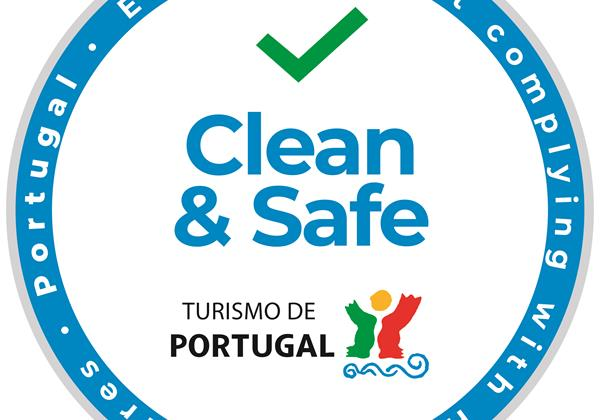 Clean And Safe Certificate - Tourism Of Portugal