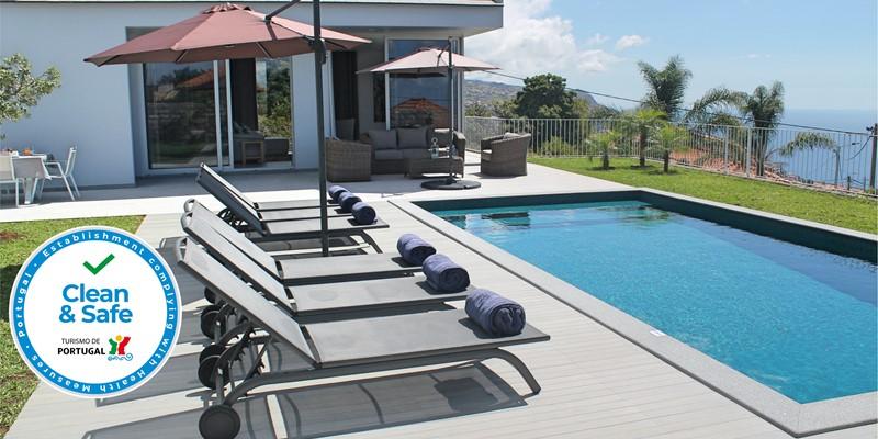 Our Madeira Villas In Madeira Calheta Heights