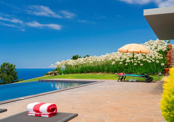 Our Madeira - Apartments in Madeira with Swimming Pool - Quinta Inacia Pool