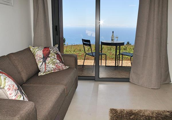 5 Ourmadeira Quinta Inacia Studio 1 Sitting And Patio 2