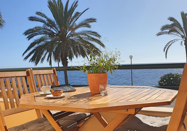 Our Madeira Apartments In Madeira with Seaview Atlantic View Apartment Outdoor Dining