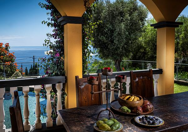 Our Madeira Villas In Madeira Quinta Girassol Outdoor Dining