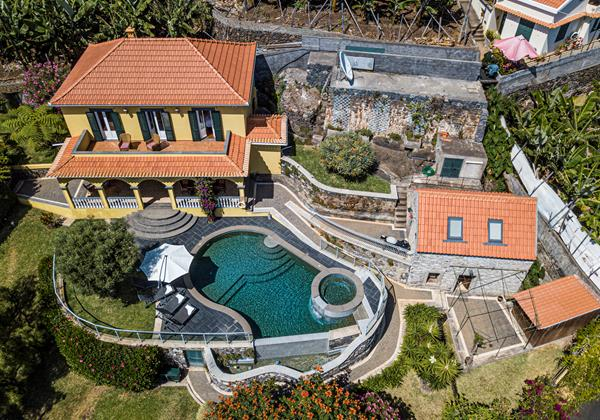 Our Madeira Villas In Madeira Quinta Girassol Overview