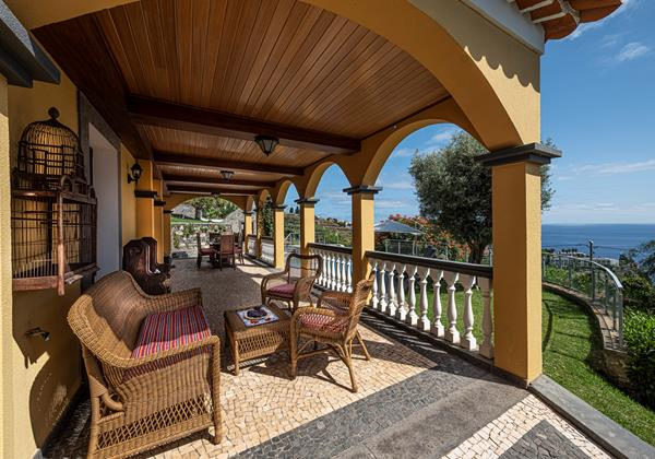 Our Madeira Villas In Madeira Quinta Girassol Veranda And View