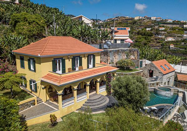 Our Madeira Villas In Madeira Quinta Girassol Villa And Garden
