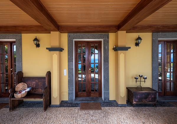 Our Madeira Villas In Madeira Quinta Girassol Entrance