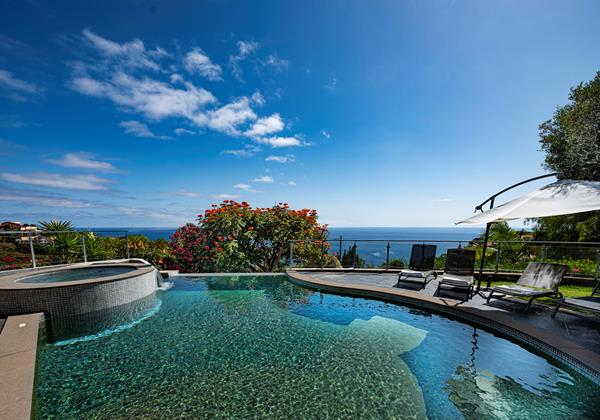 Our Madeira Villas In Madeira With Heated Swimming Pool Quinta Girassol