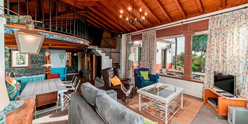 4 Our Madeira Villa Do Mar 1 Living Room