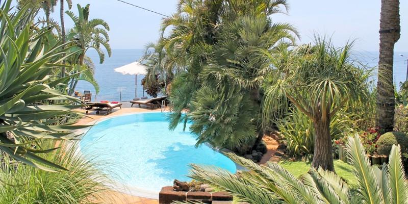 23 Our Madeira Villa Do Mar I Pool Garden View