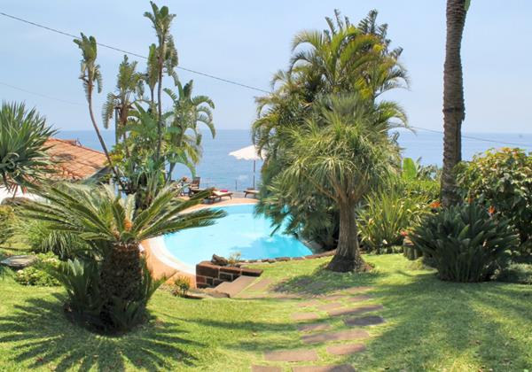 Our Madeira Villas in Madeira with Garden Villa Do Mar I Pool Gardens