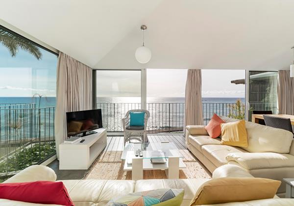 Our Madeira Villas in Madeira with Seaview Villa Do Mar 2 Living Room