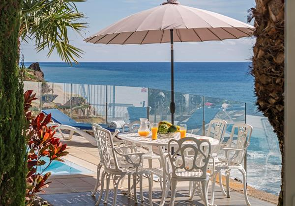 3 Our Madeira Villa Do Mar 2 Outdoor Dining