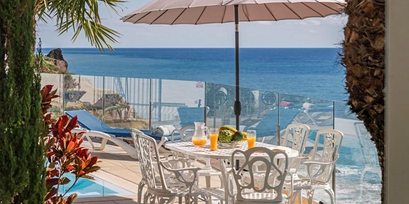 3 Our Madeira Villa Do Mar 2 Outdoor Dining